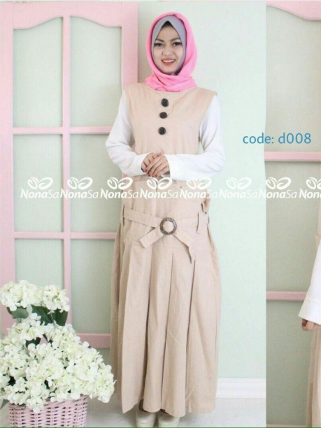 Etnic Pleated Dress D008