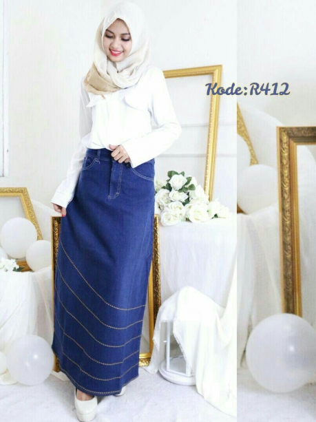 Chain Bordello Skirt R412