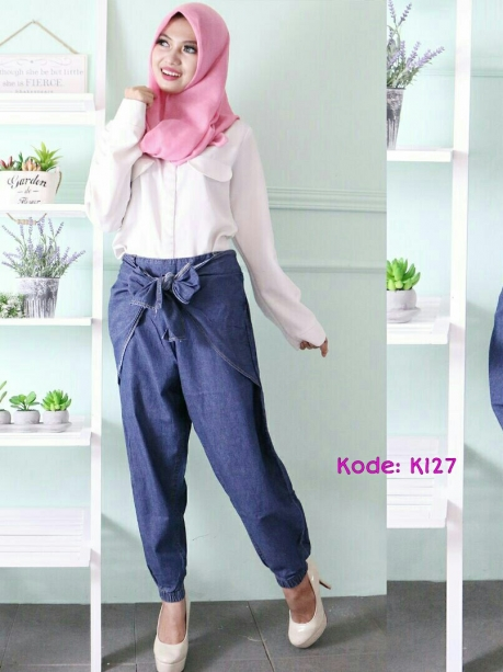 Basic Ribbon Pants K127