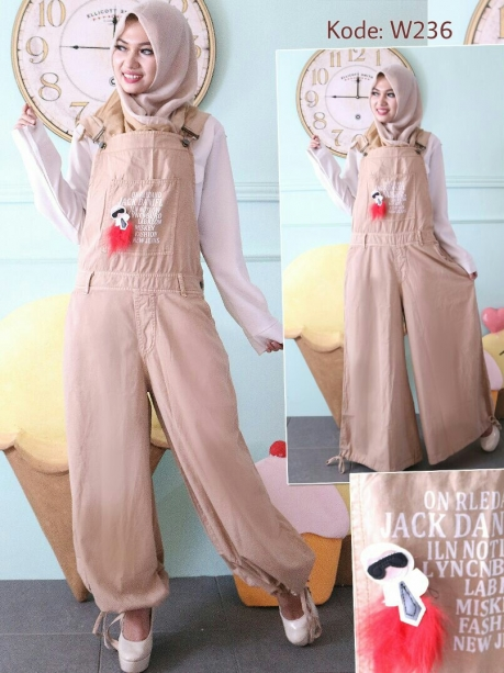 Jeans Washed Jumpsuit W236
