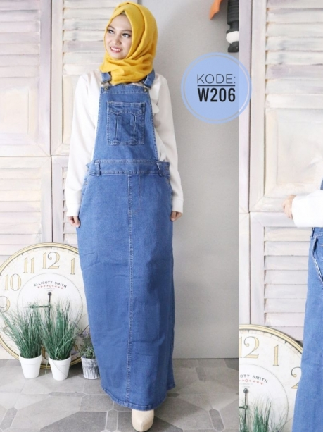 Big Size Skirt Overall W206