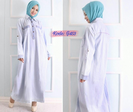 Light Blue Dress G453