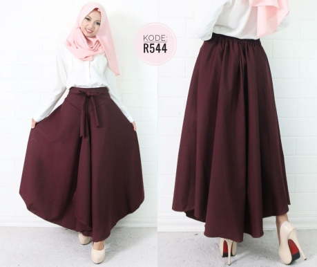 Ribbon Layer Skirt R544