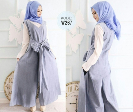 Premium Ribbon Jumpsuit W267