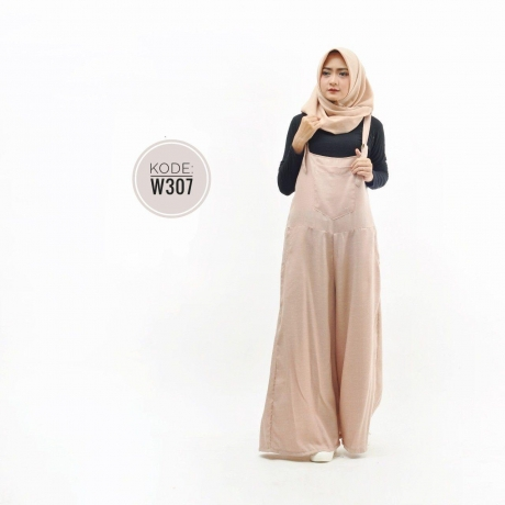 Long Culot Jumpsuit W307