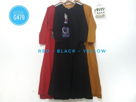 Casual Moslem Dress G479