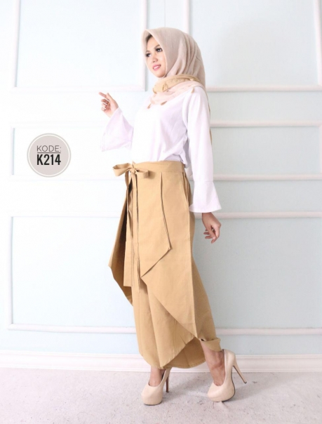 Ribbon Layer Pants K214