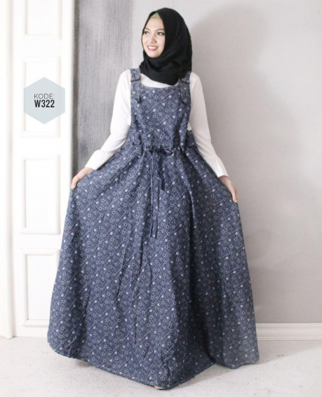 Overall Jeans Motif W322