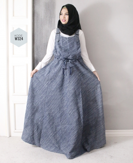 Overall Jeans Washed W324