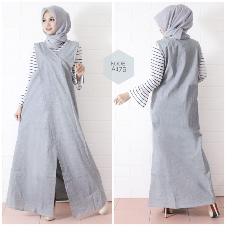 Cross Long Cardi A179