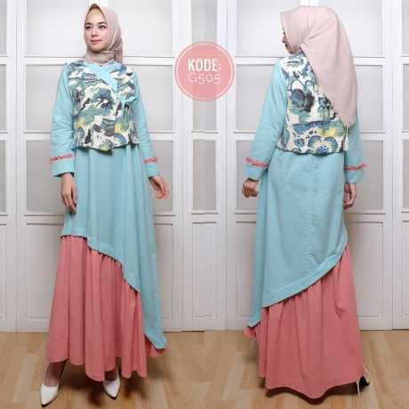Atnik Ruffle Dress G505