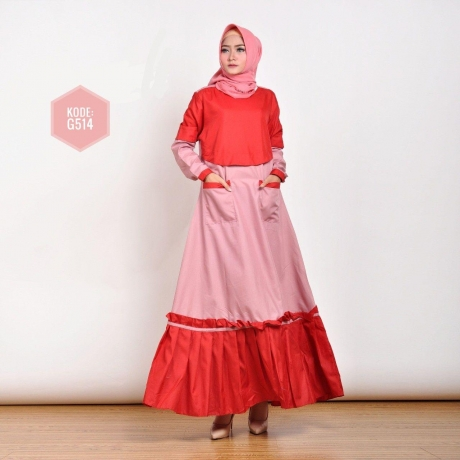 Ziyata Ruffle Dress G514