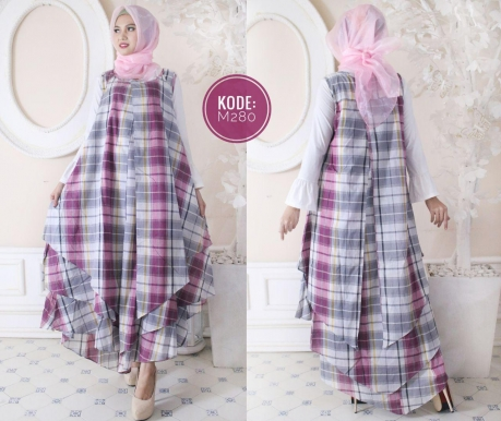 Dress Tumpuk Kotak M280