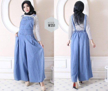 Overall Kulot Jeans W351
