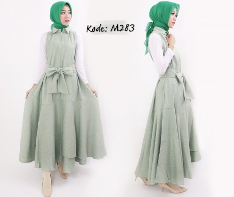 Obi Ruffle Dress M283B