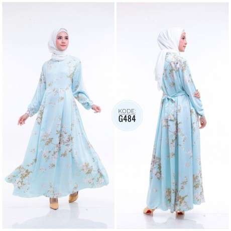Royal Syari Dress G484