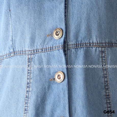 Cyra Dress Buttons G654